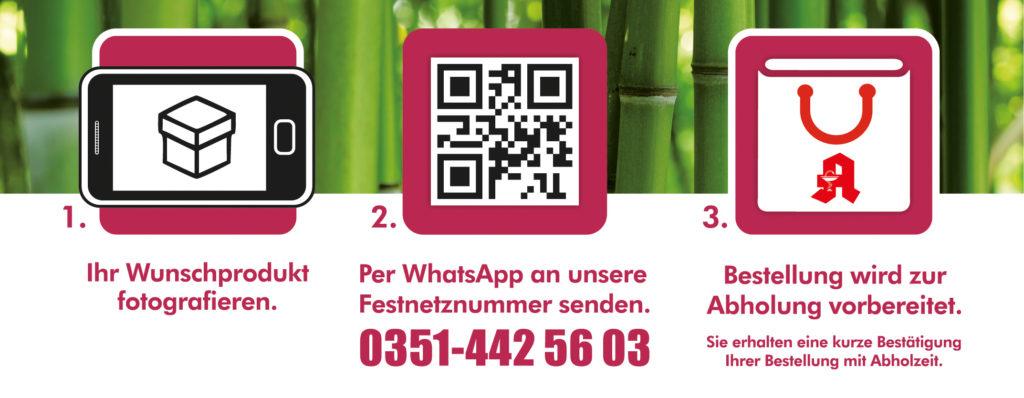 WhatsApp StadtApotheken Dresden