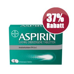 Die StadtApotheken Dresden - Aspirin Rabatt