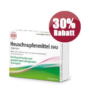 Die Stadt Apotheken Dresden - DHU Heuschnupfenmittel Rabatt