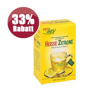 Heisse Zitrone Rabatt Aktion StadtApotheken Dresden